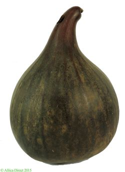 Calabash Gourd Container Brown Cameroon West Africa OLD