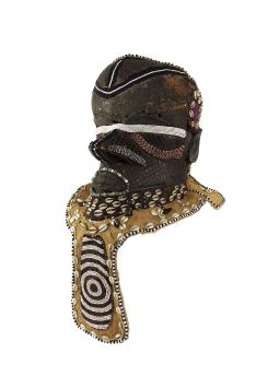 Kuba Mask Bwoom Helmet Royal Congo African Art