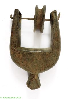 Heddle Pulley Ivory Coast African Art