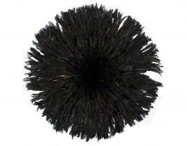 Headdress Juju Feather Bamileke Cameroon African Art Black