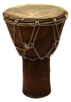 Djembe Drum West Asante Ghana African Art