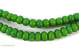 Green Whitehearts Venetian Trade Beads African