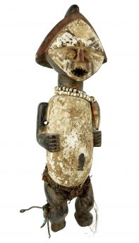 Ambete Female Reliquary Figure Gabon African Art Collection