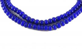 Whitehearts Venetian Trade Beads Blue African