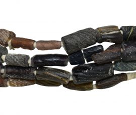 Ancient Roman Glass Fragment Beads Afghanistan 28 Inch
