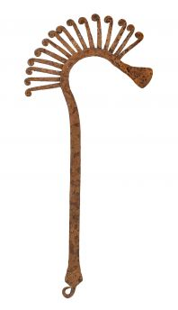 Chamba Iron Currency Axe Cameroon African Art
