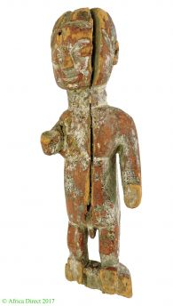 Yoruba Shrine Piece Shango Figure Musician African