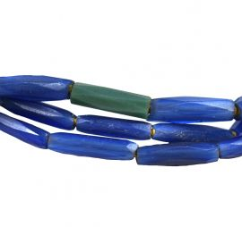 Russian Blues Trade Beads African 28 Inch