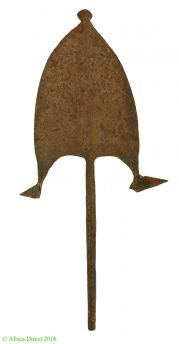 Bangala Barbed Spear Tip Currency Congo African Art