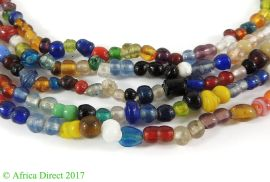 5 Strands Trade Beads Mixed Thailand 32 Inches