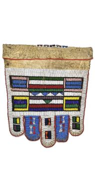 E-PRICE? Ndebele Beaded Wedding Apron South African Art Collection