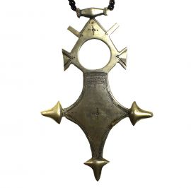 Tuareg Necklace Silver Pendant African Old DORI COLLECTION