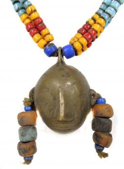 3 Strands Naga Necklace Headtaker Pendant India 35 Inches