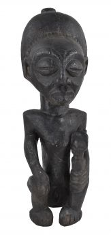 Luba Hemba Female with Child Congo African Art Collection
