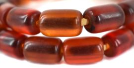 Cherry Amber Color Beads Africa 28 Inch