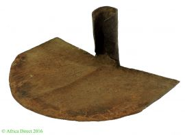 Mambila Iron Currency Shovel or Hoe African Art