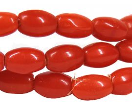 Red Rice Trade Beads Molded Africa