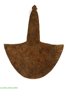 Mambila Hoe Head Currency Iron Forged Cameroon Africa
