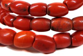 Sherpa Coral Trade Beads Tibet