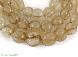 Melon Trade Beads Old European Translucent Africa
