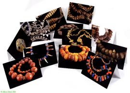 African Beads Photo Greeting Cards--Set of 12