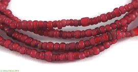Whitehearts Venetian Trade Beads Pomegranate African