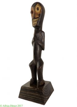 Lega Miniature Toothy Mouth Congo African Art