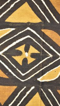 Mudcloth Textile Handwoven Black Mali African Art Collection