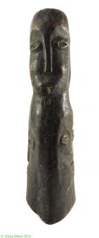 Lobi Figure Miniature Four Faces African Art