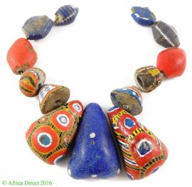 13 Kiffa Powder Glass Beads Old Mauritanian Africa Loose