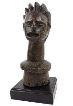 Igbo Headcrest Custom Stand Congo African Art