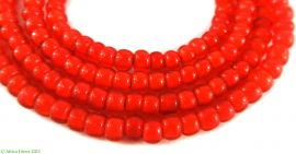 Whiteheart Trade Beads Orange Small African