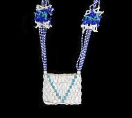Xhosa Beaded Necklace Love Letter, South Africa