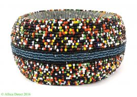Ndebele Beaded Anklet Wide Ring South Africa 6 Inch