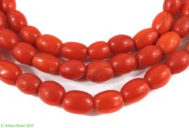 Red Rice Trade Beads Africa