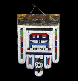 Ndebele Beaded Wedding Apron South African Art Collection