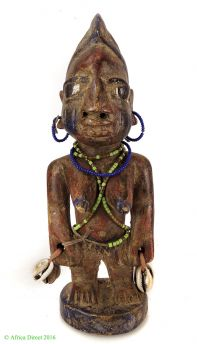 Yoruba Male Figure Nigeria African Art Miniature