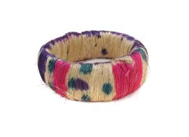 ******EPRICE*******Ring-Shaped Woven African Head Pot Holder African Art